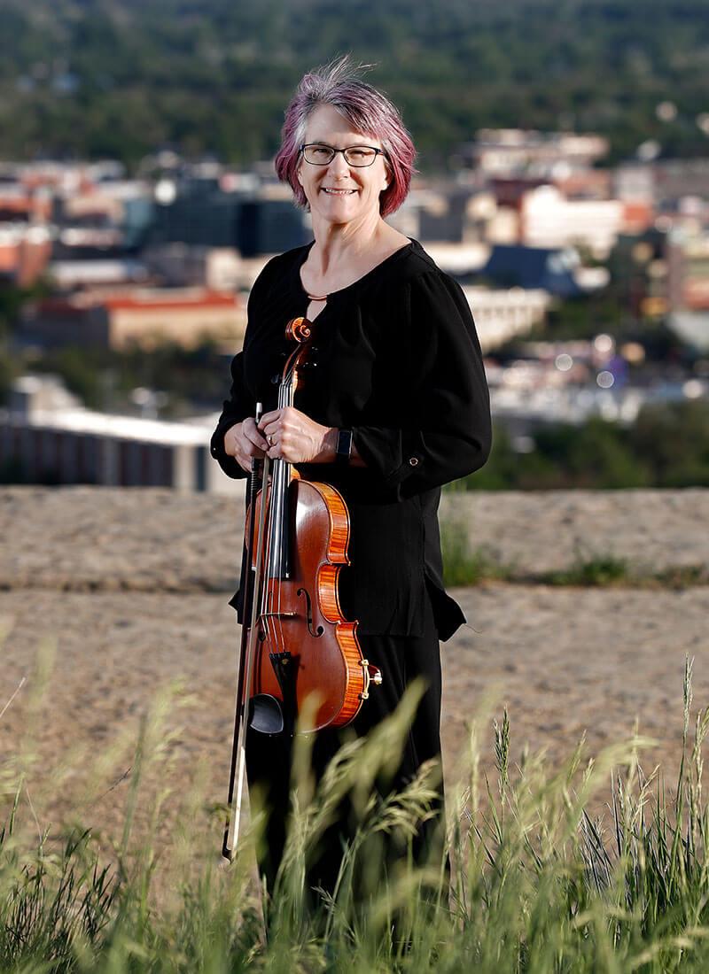 Amy Letson, principal viola