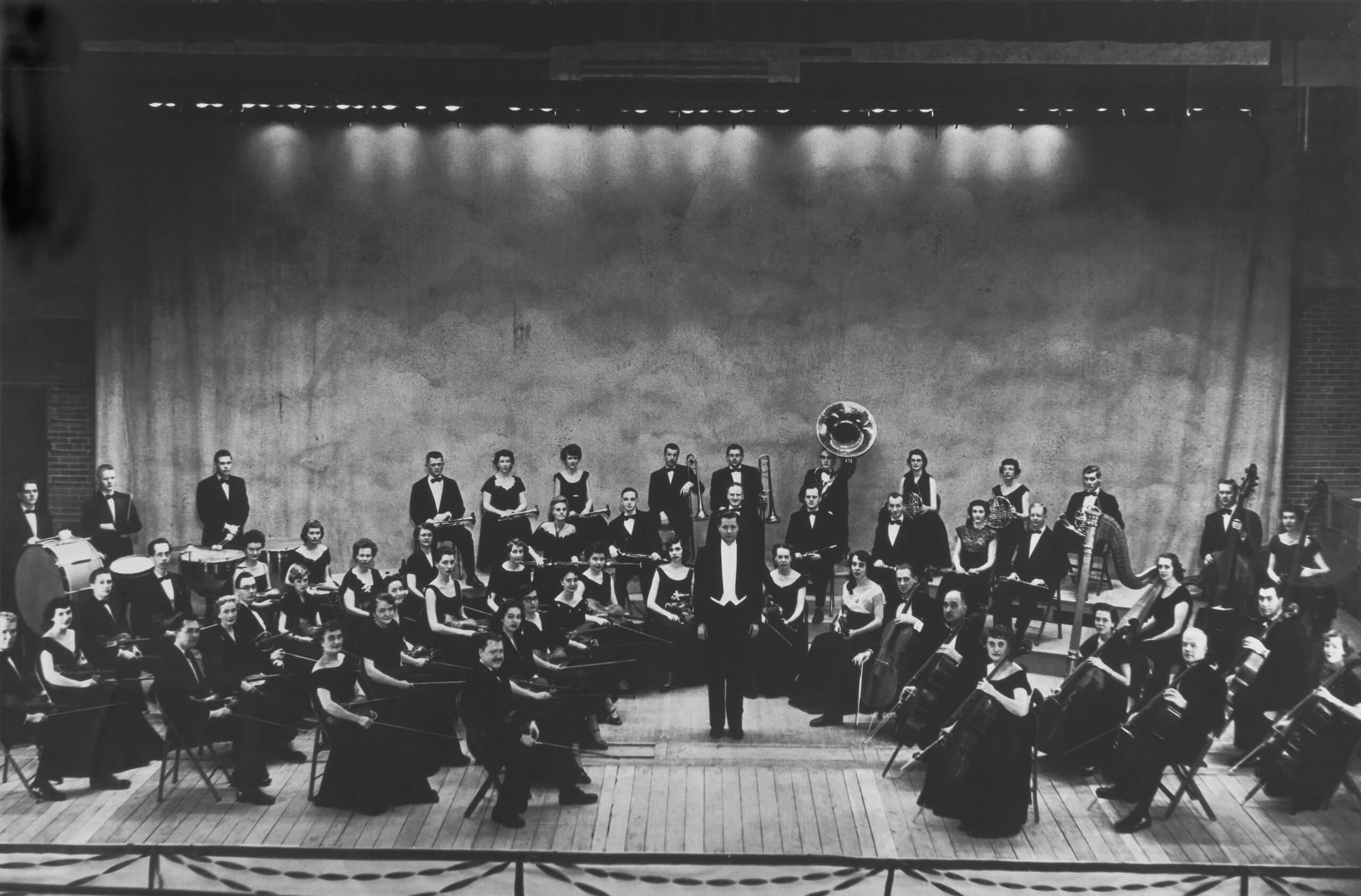 Billings Symphony circa 1951