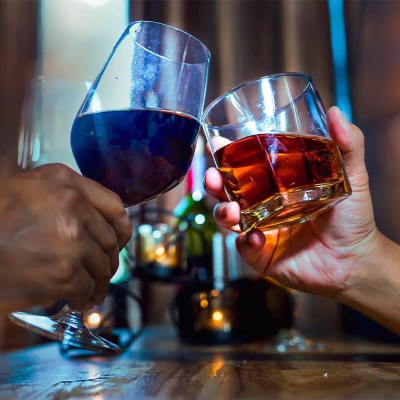 Whiskey & Wine